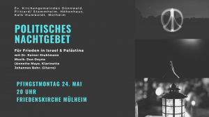 Read more about the article Politisches Nachtgebet